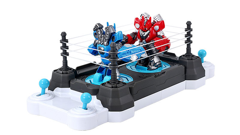 2019 Wholesale Boys Toy Racing Boxing and Fighting Competitive Toys Manual Edition Robot Toy