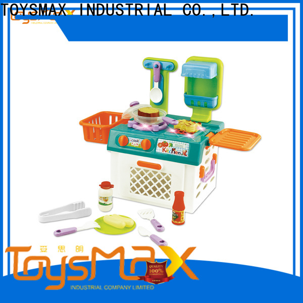 lovely kids role play shop trolley for child